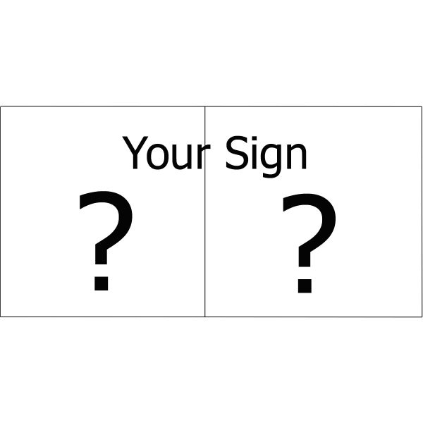 Enamel signs by Jeanette Hannaby