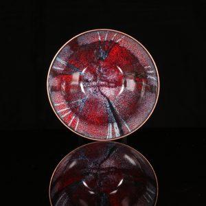 Enamel bowl by Jeanette Hannaby
